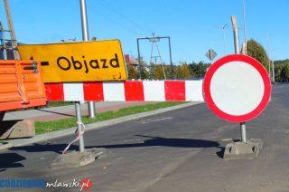 Uwaga roboty drogowe! Ulica Nowowiejska zamknięta, do Dzierzgowa objazdem