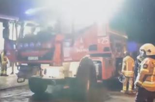 Tak strażacy z Turzy Małej powitali swój nowy wóz [filmy]