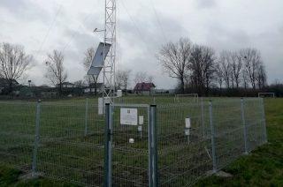 Stacja meteo w Bońkowie Kościelnym już wysyła dane