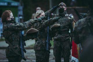 Terytorialsi przysięgali. Wśród nich trójka ochotników z powiatu mławskiego [fot.]
