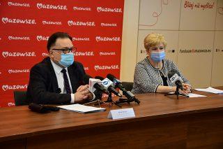 Kolejne 105 mln zł na walkę z koronawirusem od Samorządu Mazowsza