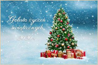 Galeria życzeń świątecznych. Boże Narodzenie 2020 r.