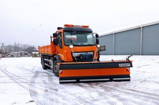 Nowa ciężarówka dla PZD. Czy pług w tym roku się przyda?