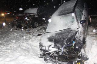 Zderzenie trzech pojazdów w okolicach Szydłówka. Znamy ustalenia policji