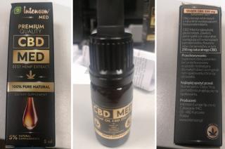 GIS wycofuje ze sprzedaży olejek. Zbyt dużo psychoaktywnego THC