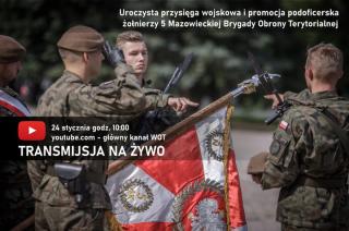 Przysięga wojskowa i ślubowanie nowych podoficerów WOT