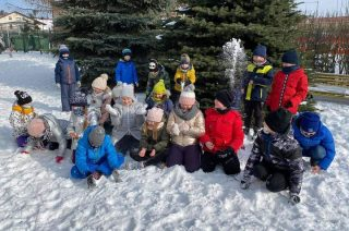 Zimowa lekcja wf [foto]