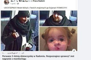 Porwanie 5-letniego dziecka. Policja wyjaśnia