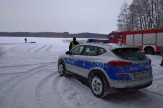 Pod autem załamał się lód. Ledwie uszedł z życiem