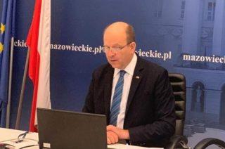 Wojewoda Mazowiecki zwołał posiedzenie Zespołu Zarządzania Kryzysowego w związku z atakiem zimy