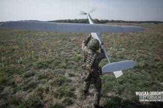 Szkolenie mazowieckich terytorialsów z bezzałogowcem