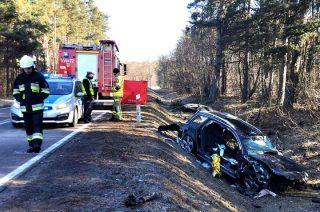 Śmiertelny wypadek pod Wielbarkiem. Zginął 20-latek