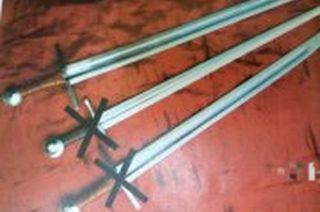 Rycerze z nidzickiego zamku stracili miecze. Złodziej schwytany