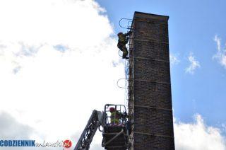 Zajrzeli do komina w poszukiwaniu samobójcy [ FOTO i FILM]