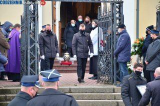 Pogrzeb wójta Wiesława Boczkowskiego [Fotorelacja]