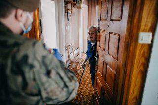 Terytorialsi pamiętają również osobach najsłabszych, seniorach, w tym o kombatantach – bohaterach