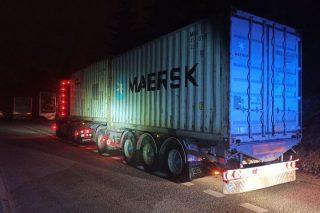 Policjanci zatrzymali ciężarówkę do kontroli. Już nie pojechała dalej