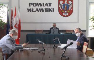 Na żywo: XXIV sesja Rady Powiatu Mławskiego. Zapraszamy!