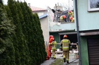 Mława. Pod gruzami budynku zginęła 63-letnia kobieta