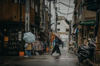 Melodia Tekli Bądarzewskiej sygnalizuje odbiór śmieci w Tokio