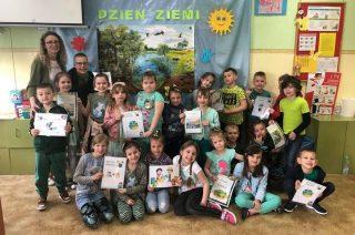 Przedszkolaki z SP nr 2 dbają o Ziemię