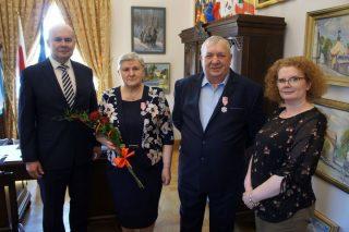 Kolejne medale za długoletnie pożycie małżeńskie wręczone