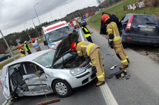"""Wypadek na skrzyżowaniu Padlewskiego i """"siódemki"""". Jest korek [FOTO]"""