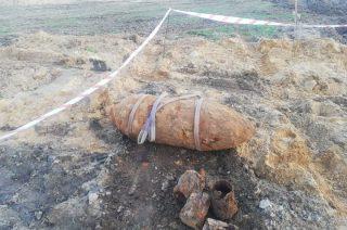500 kilogramowa bomba pod Płońskiem. Konieczna była ewakuacja