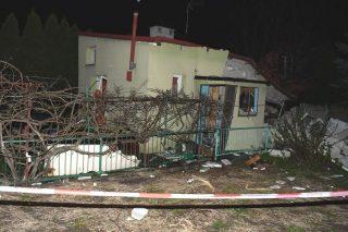 Wybuch gazu. Budynek uszkodzony, lokator ranny