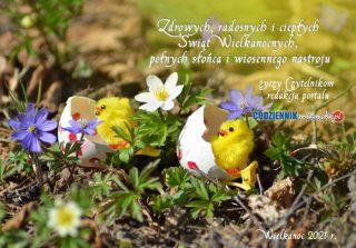 Czytelnikom życzymy zdrowych i radosnych Świąt Wielkanocnych!