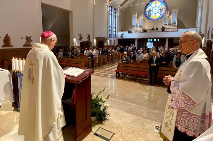 Parafia Świętej Rodziny w Mławie świętowała jubileusz 20-lecia istnienia