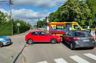 Wypadek na skrzyżowaniu Wójtostwa i Lawicz-Liszki [FOTO]