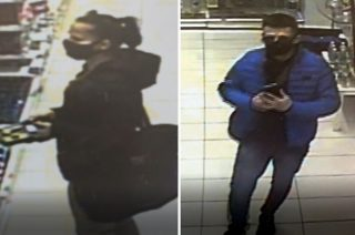 Ukradli perfumy w Mławie. Policja publikuje wizerunek złodziei