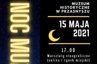 """Dziś """"Noc Muzeów"""" na przasnyskim rynku"""
