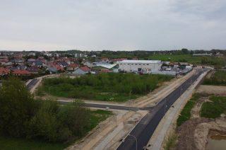 Budowa drugiego odcinka Alei Św. Wojciecha na ukończeniu [zobacz FOTO]