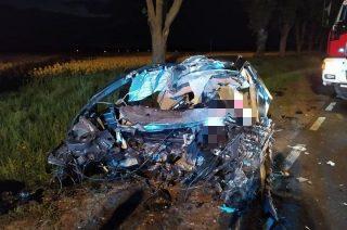 41-letni kierowca zginął na miejscu [FOTO]