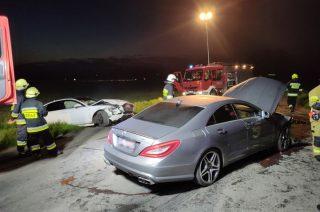 Zderzenie dwóch aut w Bogurzynie