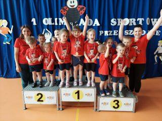 Pierwsza olimpiada przedszkolaków w SP nr 2