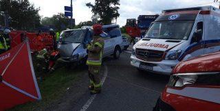 U sąsiadów. Poważny wypadek w Karniewie. Poszkodowanych 6 osób, w tym 3 dzieci