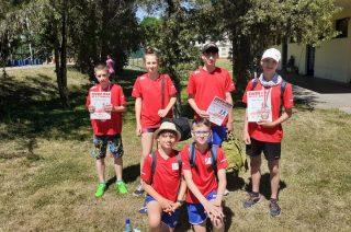 Uczniowie SP nr 2 z medalami mistrzostw rejonu