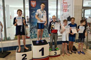 Adam Łoboda Najlepszym Zawodnikiem serii zawodów Pływackich Od Młodzika Do Olimpijczyka