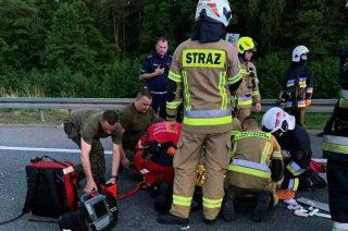 Żołnierze 5MBOT ratowali życie ofiarom wypadków