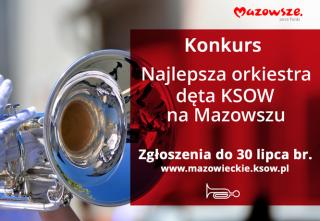 KONKURS DLA ORKIESTR DĘTYCH Z MAZOWSZA