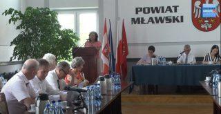 XXVII sesja Rady Powiatu Mławskiego. Zapraszamy na transmisję!