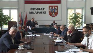 XXVI sesja Rady Powiatu Mławskiego