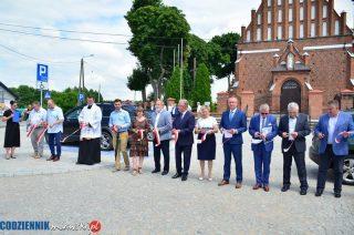Oficjalne otwarcie powiatowej inwestycji w Dzierzgowie