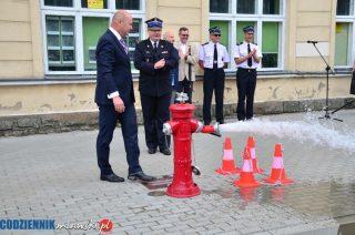 Hydrant działa sprawnie, jak nasza straż