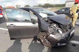 Wypadek koło Michalinowa