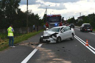 Wczorajszy wypadek w Wiśniewie. Są wstępne ustalenia policji