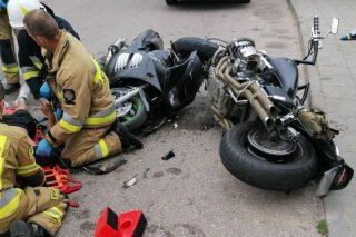 Pijany motocyklista spowodował wypadek. Są ustalenia Policji